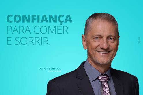 CONFIANÇA PARA COMER E SORRIR